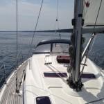 segelyacht segelt unter autopilot -steffen-lelewel