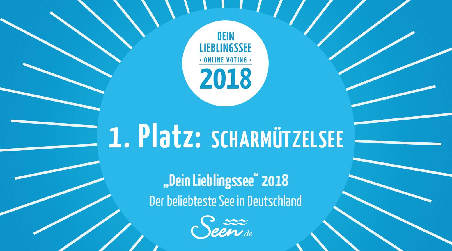 Deutschlands Lieblingsee 2018