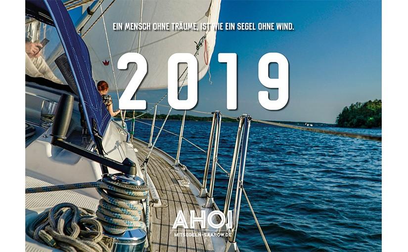 Großer Wandkalender 2019
