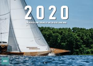 A3 Wandkalender 2020 Segeln