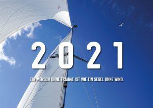 Bestelle jetzt den A3 AHOI-Wandkalender für das Jahr 2021